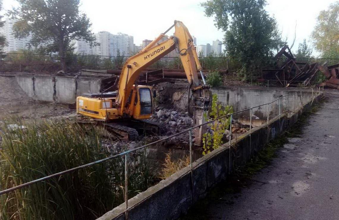 ТОВ «Автогран» - Демонтаж очистных сооружений