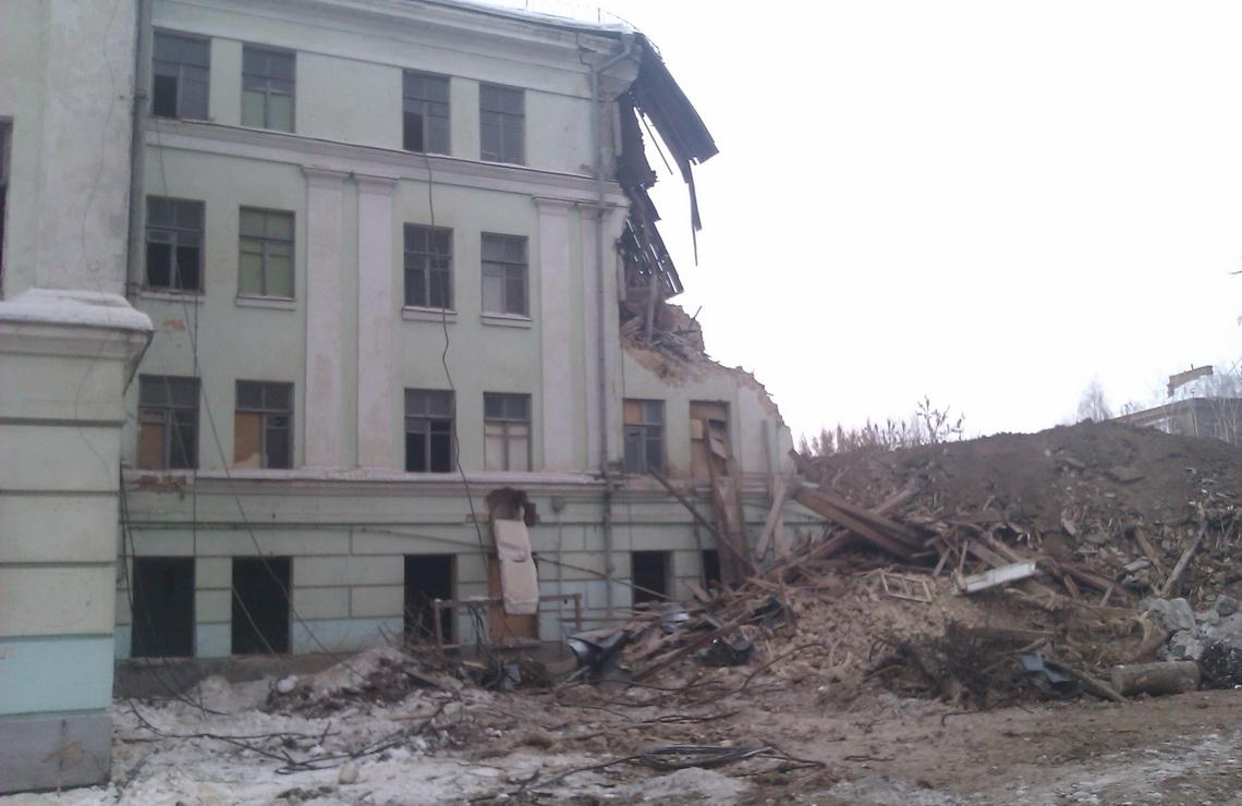 ТОВ «Автогран» - Демонтаж и строительство школы Некрасовская,4