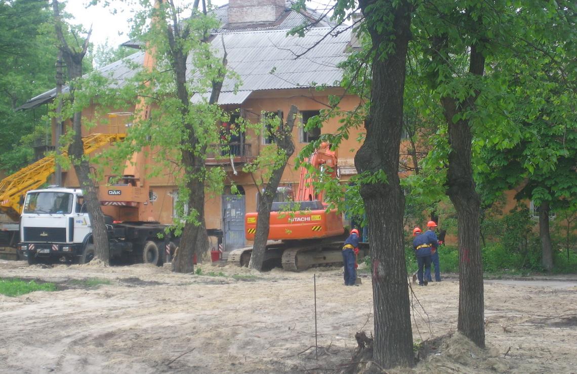 ТОВ «Автогран» - Устройство котлованов в Соцгороде