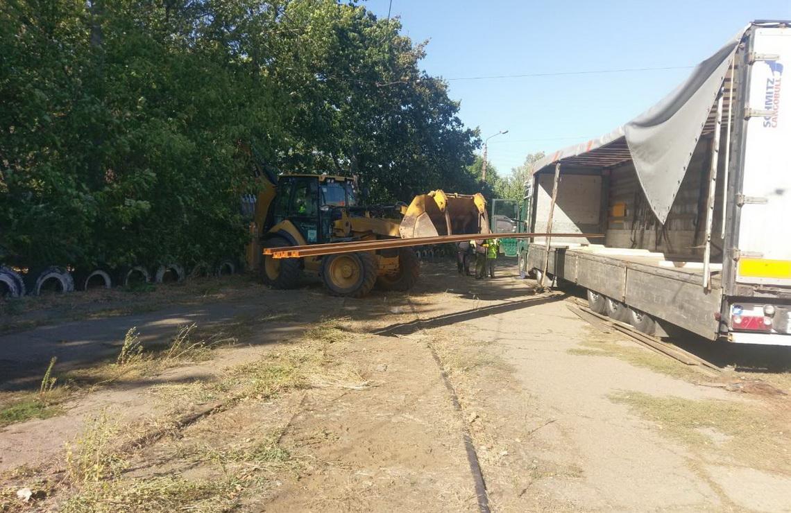 ТОВ «Автогран» - Реконструкция трамвайного переезда