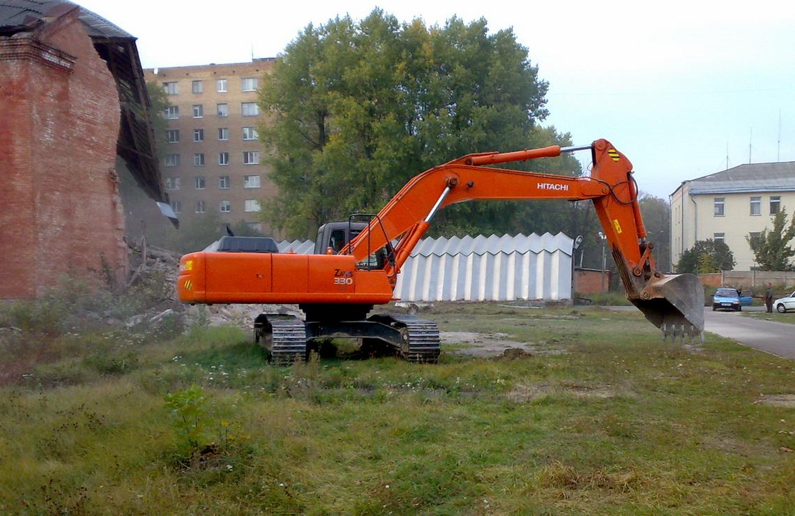 ТОВ «Автогран» - Демонтаж зданий ул.Щербакова