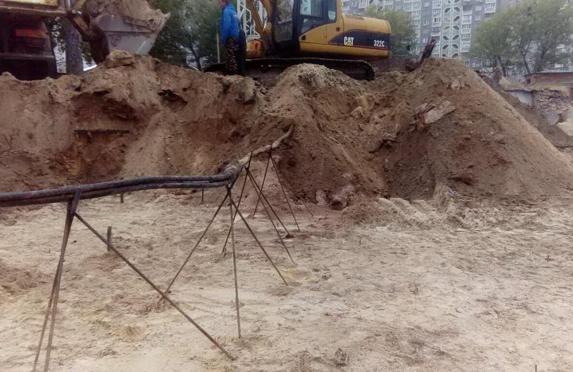 ТОВ «Автогран» - Демонтаж здания школы ул. Хорольская