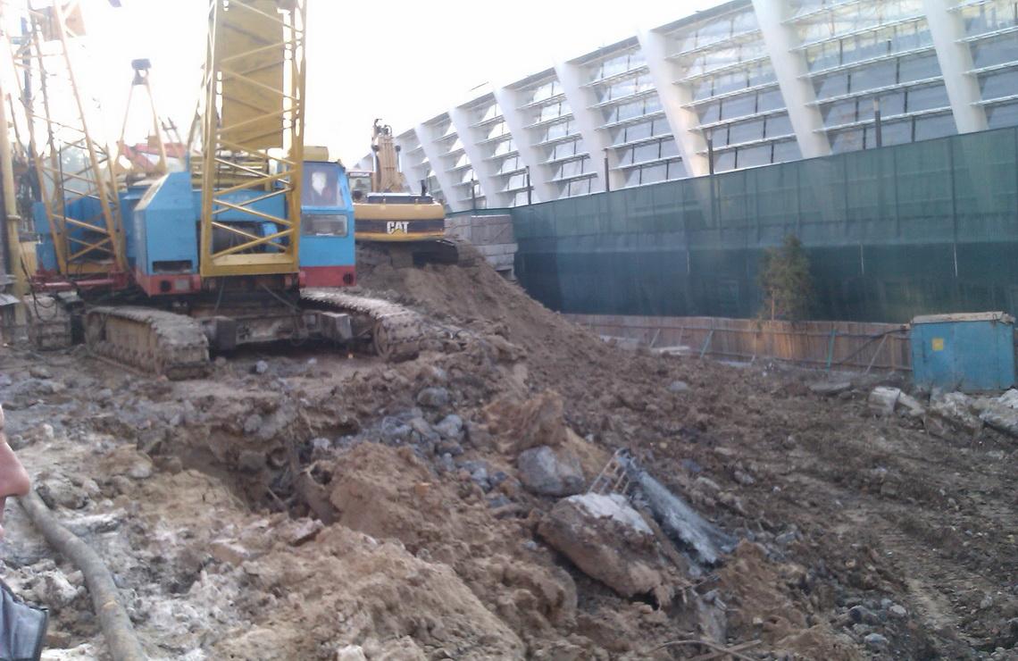 ТОВ «Автогран» - Демонтажные работы НСК «Олимпийский»