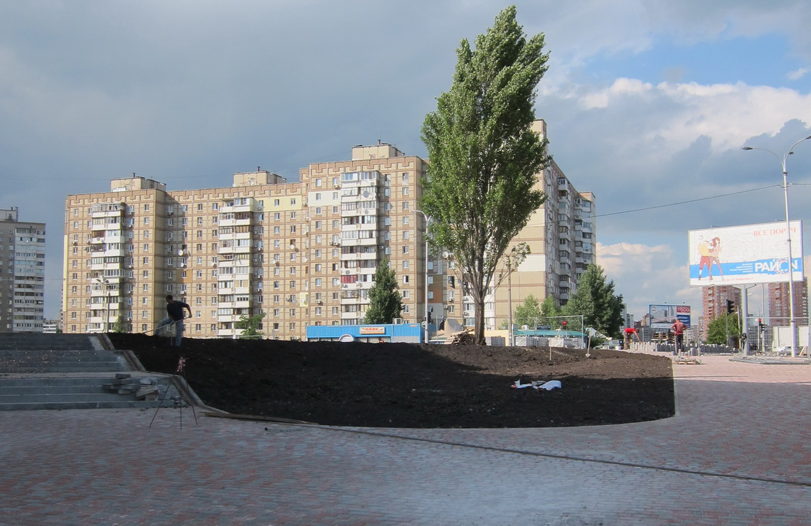 ТОВ «Автогран» - Земляные работы и благоустройство для ТРЦ РАЙОН