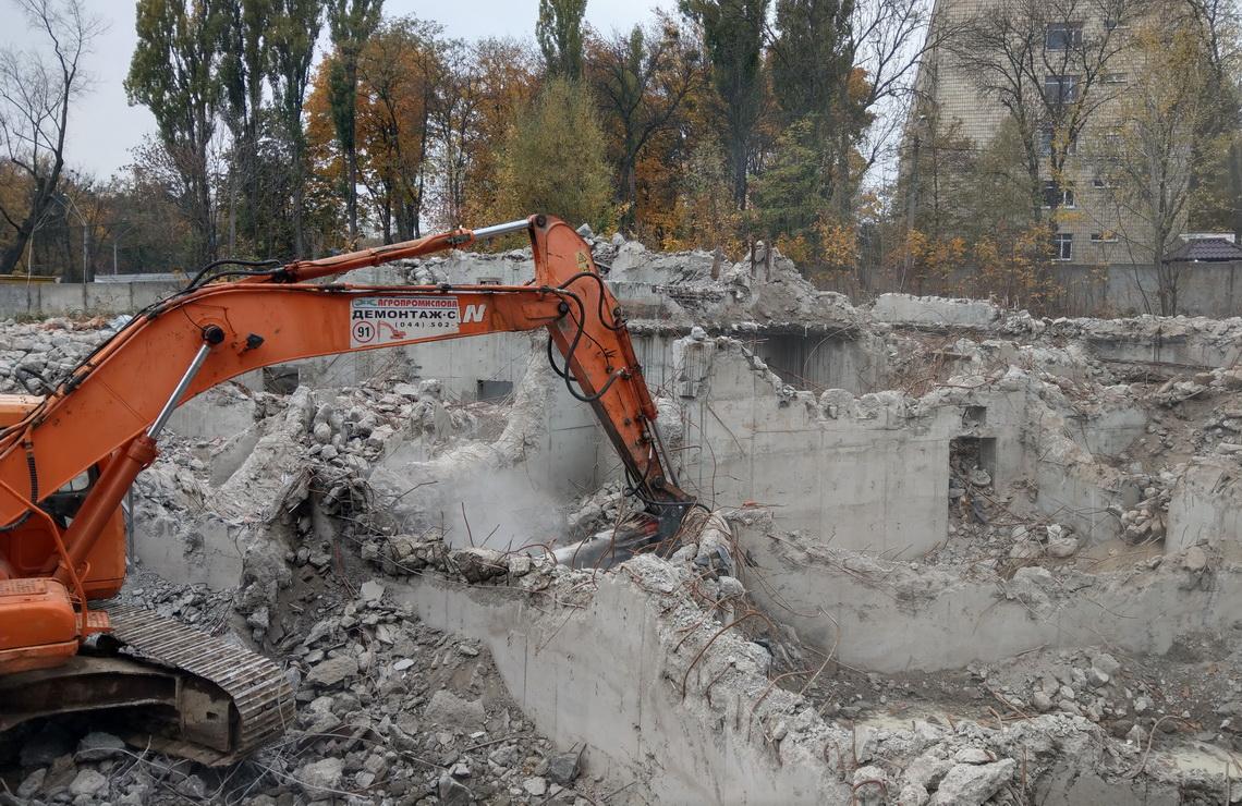 ТОВ «Автогран» - Демонтаж объектов в зоопарке Киева