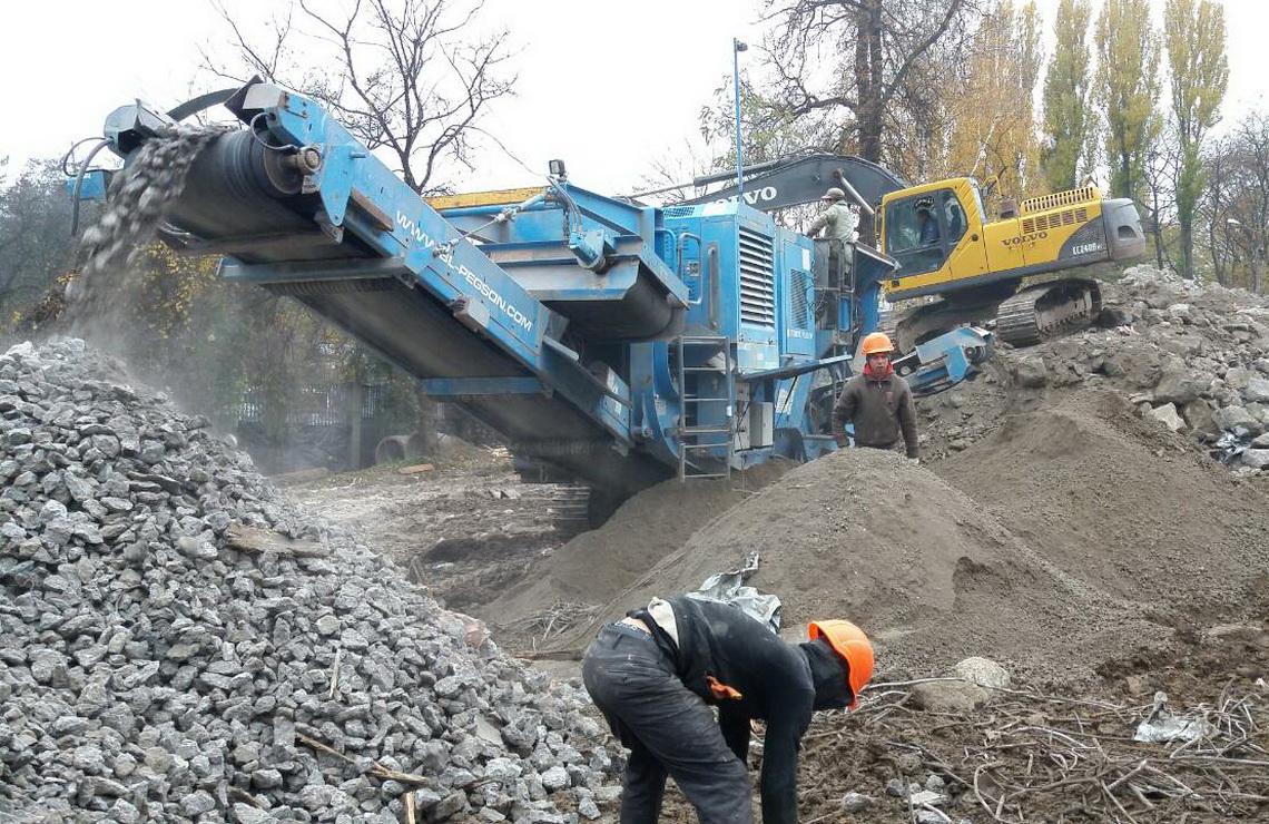 ТОВ «Автогран» - Демонтаж цехов завода «Галактон»