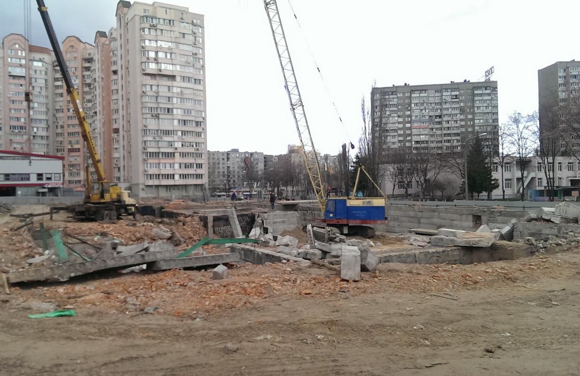 ТОВ «Автогран» - Демонтаж школы ул.Землячки